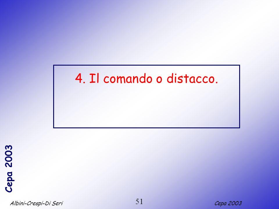 Albini-Crespi-Di SeriCepa 2003 51 4. Il comando o distacco.