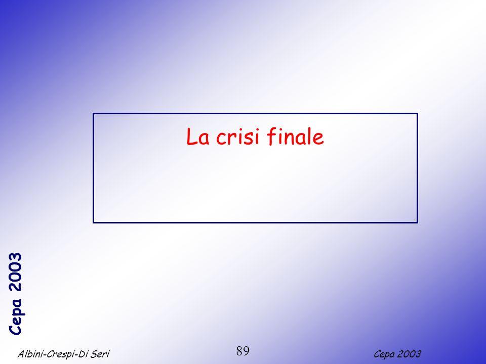 Albini-Crespi-Di SeriCepa 2003 89 La crisi finale