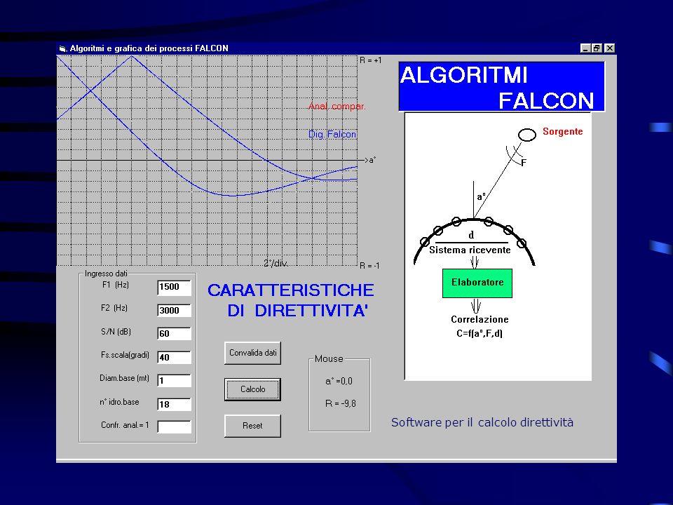 Software per il calcolo direttività