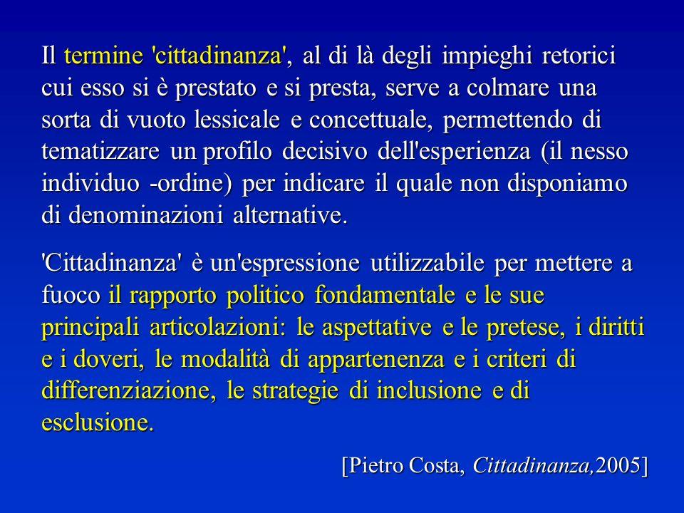 SI ACQUISTA SU DOMANDA - Per discendenza da cittadino italiano per nascita - fino al II° grado – (art.4); - Per nascita sul territorio italiano (art.4); - Per matrimonio con cittadino/a italiano/a (art.5); - Per naturalizzazione (art.
