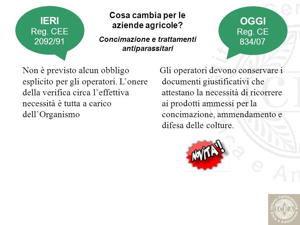 Misure transitorie… I prodotti ottenuti, condizionati ed etichettati anteriormente al 1 gennaio 2009 a norma del regolamento (CEE) n.