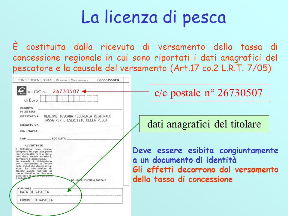 Il calendario della pesca dilettantistica nelle acque interne della Provincia di Pisa è stato approvato con Deliberazione della Giunta Provinciale n°46 del 13/06/2006 Oltre a ricordare al pescatore alcune importanti disposizioni della legge regionale, quali la LICENZA DI PESCA, POSTO DI PESCA, MEZZI CONSENTITI, ORARIO DI PESCA, TEMPI DI DIVIETO E LIMITI DI CATTURA, LIMITAZIONI E DIVIETI, elenca: lindividuazione dei confini dei CAMPI DI GARA le ZONE DI FREGA i DIVIETI PARTICOLARI DI PESCA la ZONA DI PROTEZIONE del torrente ZAMBRA Inoltre disciplina luso della TOPPA per la pesca al crognolo