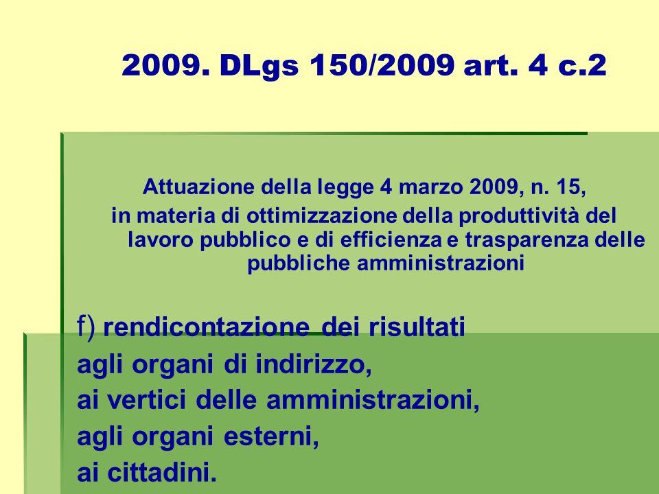 2006.Direttiva sulla rendicontazione sociale nelle P.A.