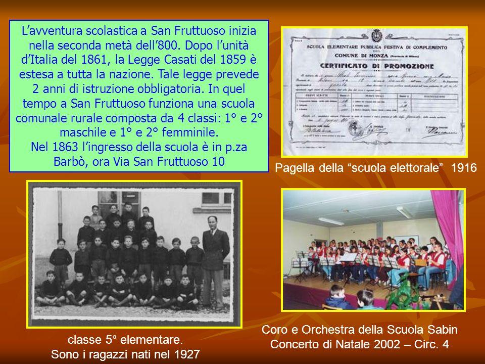 Tra i Presidi che più a lungo hanno diretto la Scuola Media Sabin, ricordiamo il prof. Roberto Pasquinucci e il prof. Alberto Serini