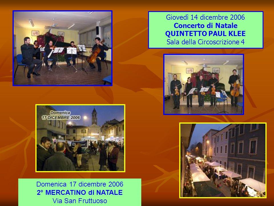 Sabato 11 novembre 2006 Sacra Rappresentazione VITA SANCTI MARTINI ENSEMBLE LA ROSSIGNOL Chiesa Parrocchiale