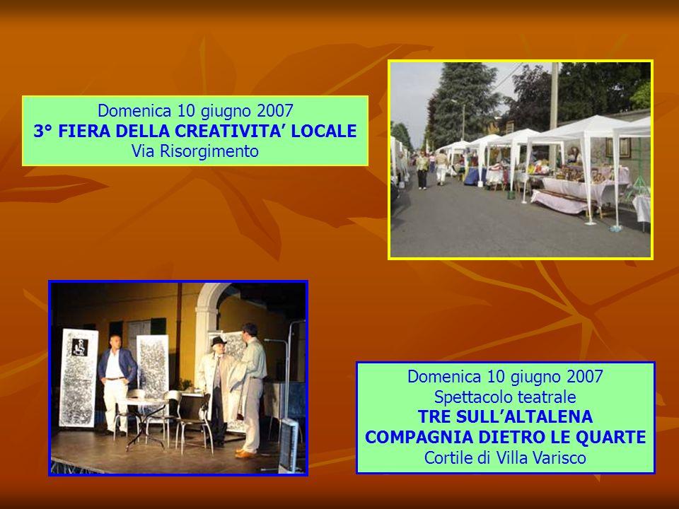 Domenica 10 giugno 2007 SAN FRUTTUOSO: UN PAESE IN FESTA 5° Edizione