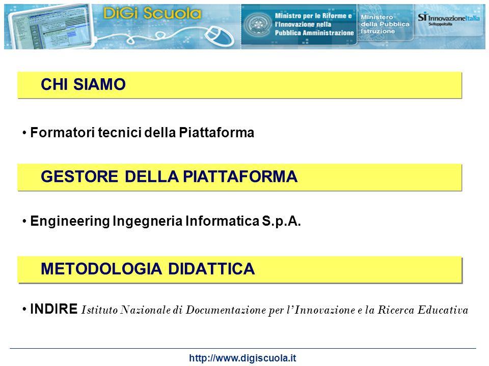 http://www.digiscuola.it METODOLOGIA DIDATTICA INDIRE Istituto Nazionale di Documentazione per lInnovazione e la Ricerca Educativa CHI SIAMO GESTORE D