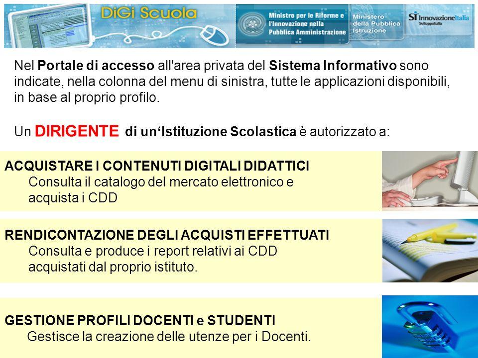 http://www.digiscuola.it Tornando sulla pagina di Benvenuto si può accedere al Market Place, un vero e proprio mercato elettronico di Contenuti Didattici Digitali CDD messi in linea dai diversi Editori che hanno partecipato al progetto.