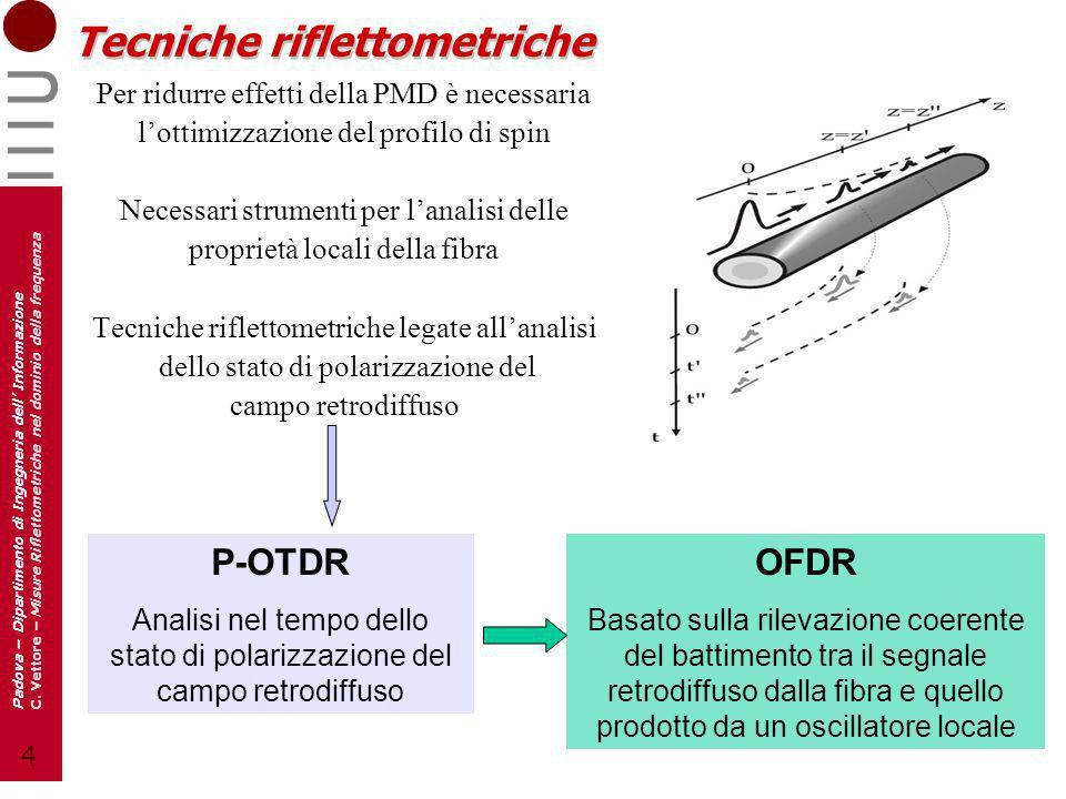 5 Padova – Dipartimento di Ingegneria dell Informazione C.