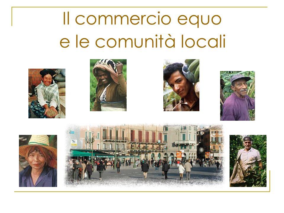 Il commercio equo e le comunità locali