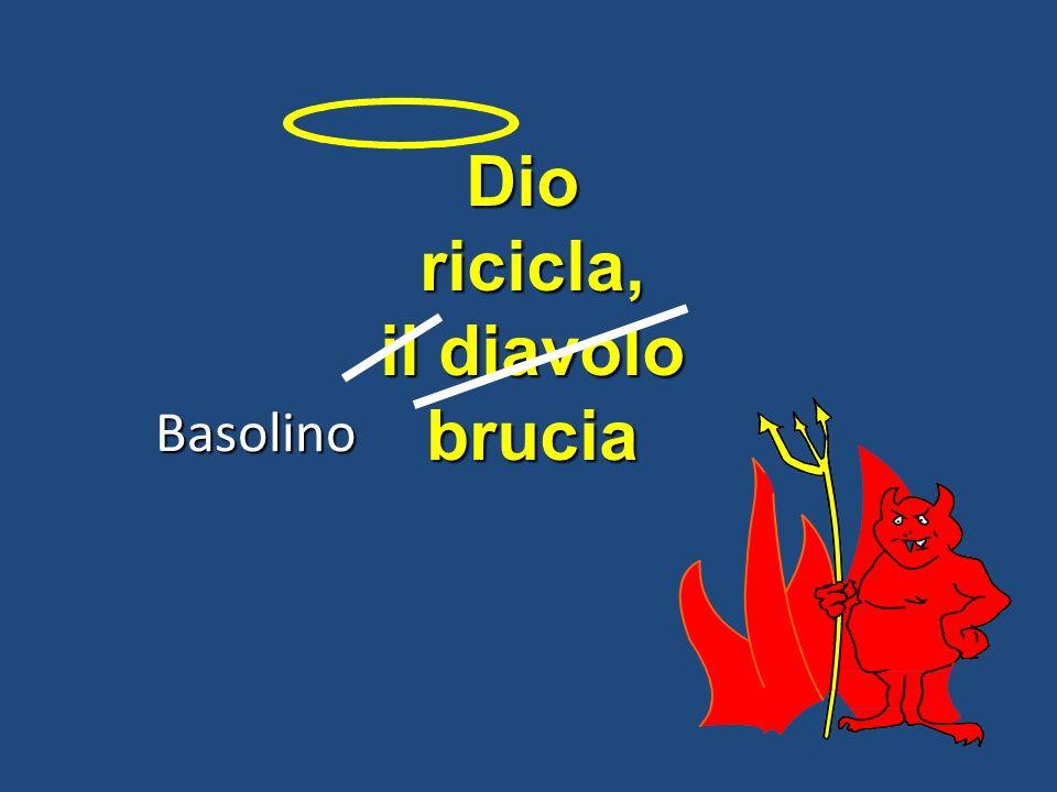 Dioricicla, il diavolo brucia Basolino