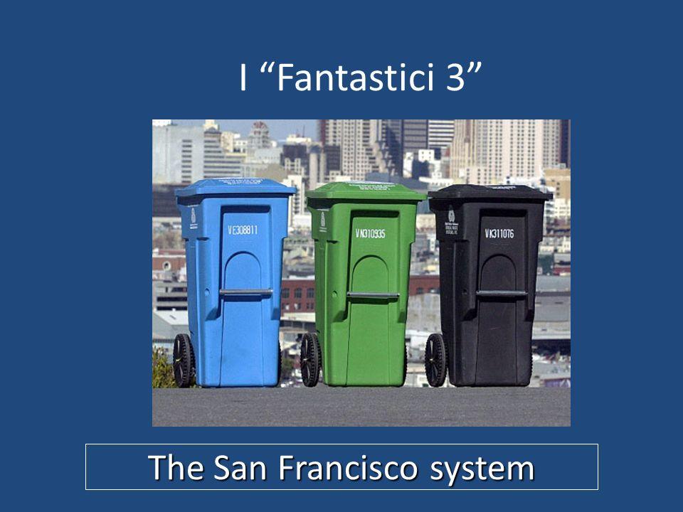 I Fantastici 3 The San Francisco system