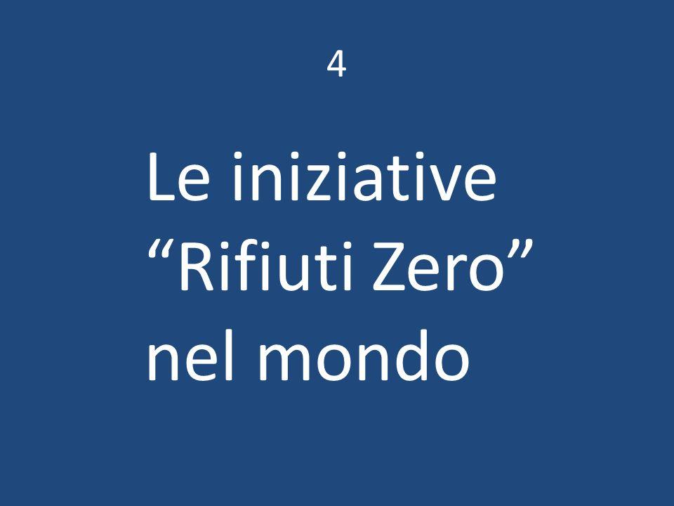 4 Le iniziative Rifiuti Zero nel mondo
