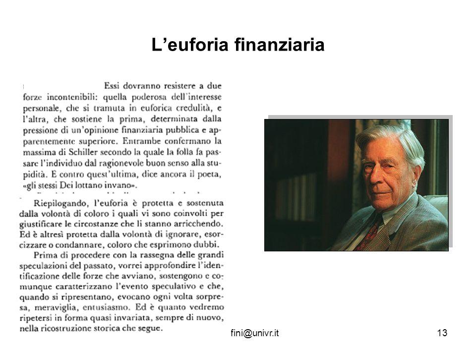 www.terribilepasticcio.inforoberto.fini@univr.it13 Leuforia finanziaria