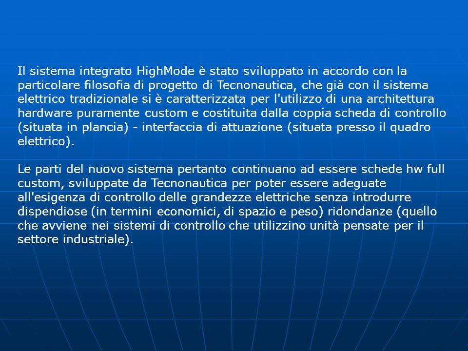 Filosofia di progetto Il sistema integrato di monitoraggio HighMode rappresenta la naturale evoluzione del collaudato ed affidabile sistema di control