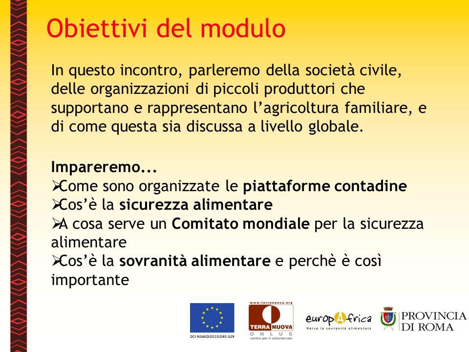 www.europafrica.info Ci sono molte organizzazioni contadine in Europa che lottano e cercano di affermare la sovranità alimentare.