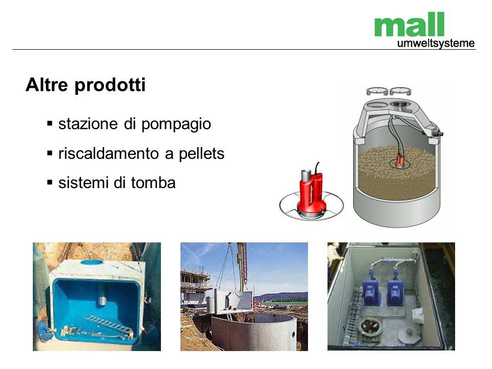 Altre prodotti stazione di pompagio riscaldamento a pellets sistemi di tomba