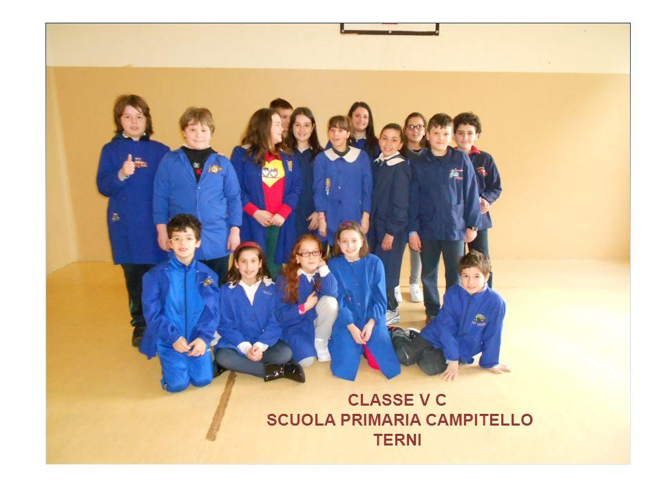 CLASSE V D SCUOLA PRIMARIA CAMPITELLO TERNI