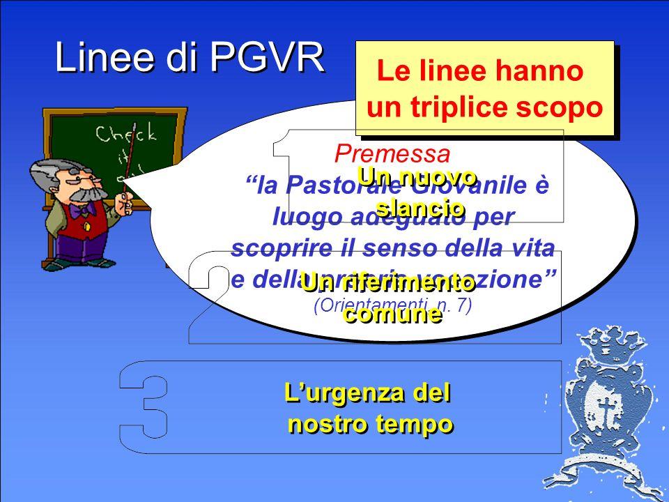 Linee di Pastorale Giovanile Vocazionali, C.Ss.R. Linee di Pastorale Giovanile Vocazionali, C.Ss.R.