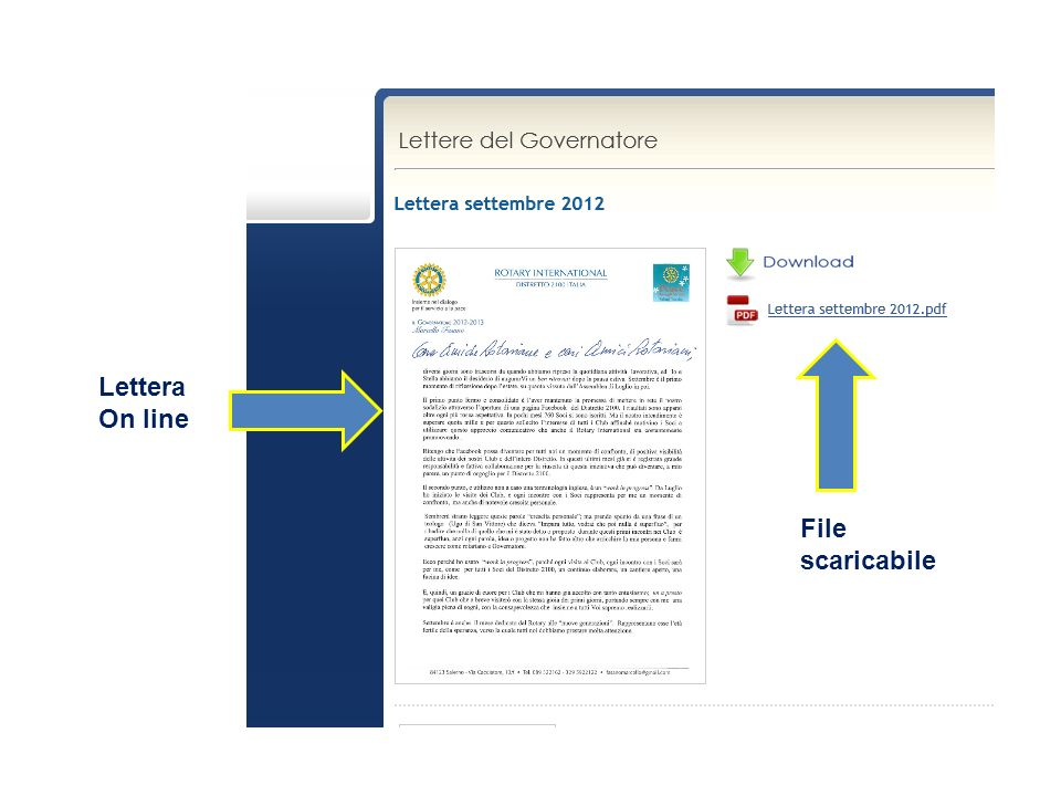 File scaricabile Lettera On line