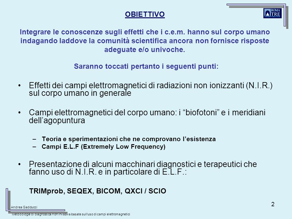 23 CONCLUSIONI Campi e.m.