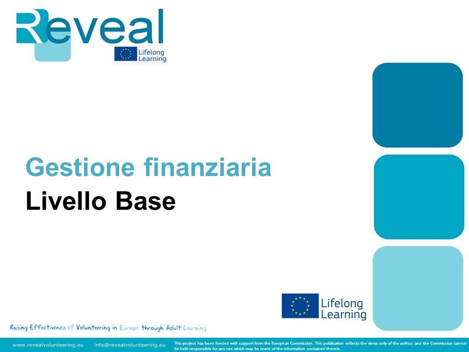 Livello: Base Tema: Gestione finanziaria In questo corso sarà presentata una panoramica sulle principali questioni finanziarie che riguardano il mondo del non profit.