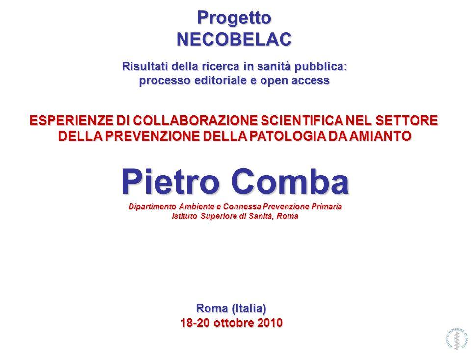 Lamianto è stato il più importante fattore nella cancerogenesi professionale in Europa e nel mondo.