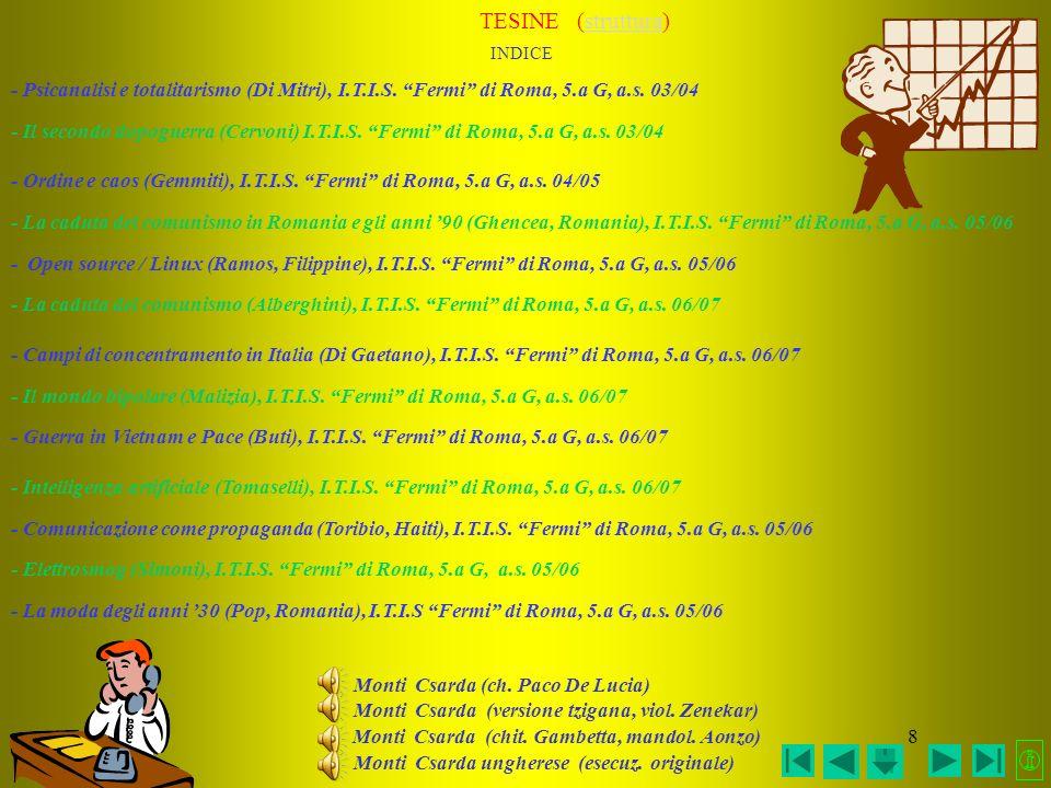 7 LINGUA, LINGUAGGI E LETTERATURA ITALIANA INDICE > GRAMMATICA PRATICA: REPERTORI DI ERRORI REPERTORIO 1°REPERTORIO 2° REPERTORIO 3°REPERTORIO 4° > GR