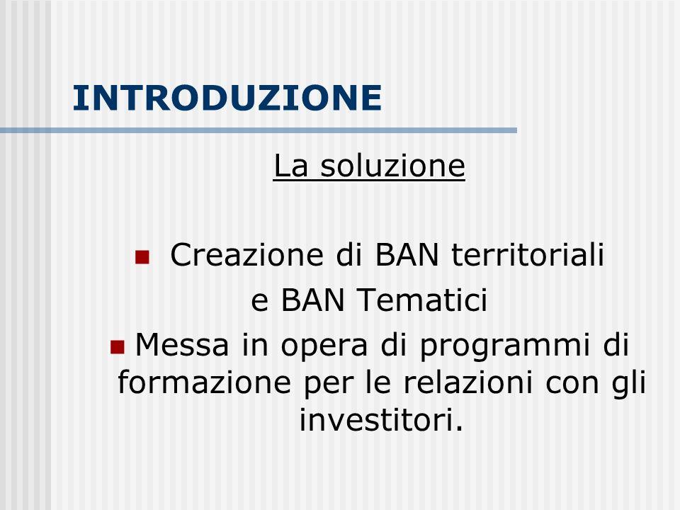 PRESENTAZIONE ASSOCIAZIONE IBAN IBAN RITIENE DI ESSERE LISTITUZIONE CHE MEGLIO CONOSCE E RAPPRESENTA LA REALTA ITALIANA DEGLI INVESTITORI INFORMALI IN CAPITALE DI RISCHIO IBAN è operativa dal 1999