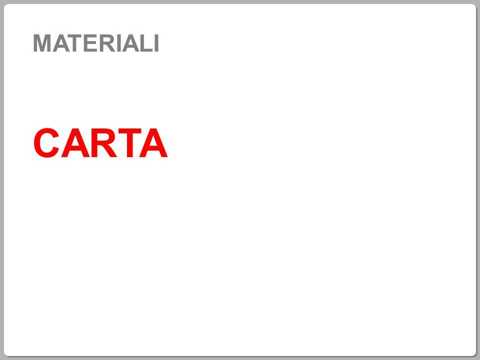 MATERIALI CARTA