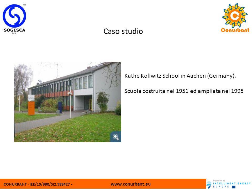 CONURBANT - IEE/10/380/SI2.589427 - www.conurbant.eu Caso studio Käthe Kollwitz School in Aachen (Germany). Scuola costruita nel 1951 ed ampliata nel