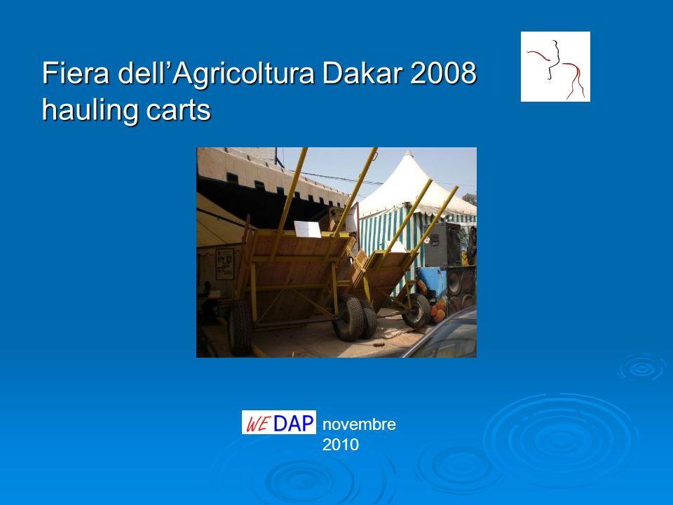 Fiera dellAgricoltura Dakar 2008 hauling carts