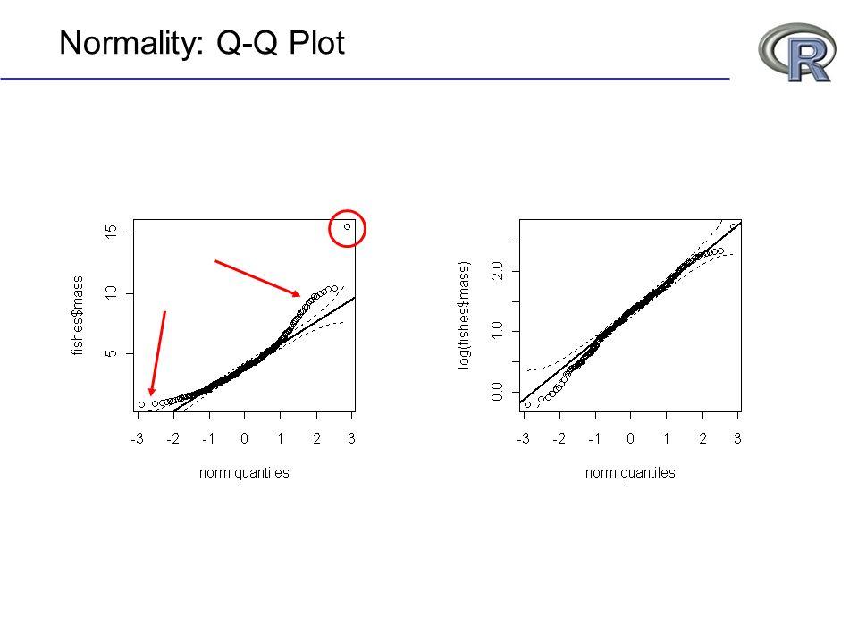Normality: Q-Q Plot