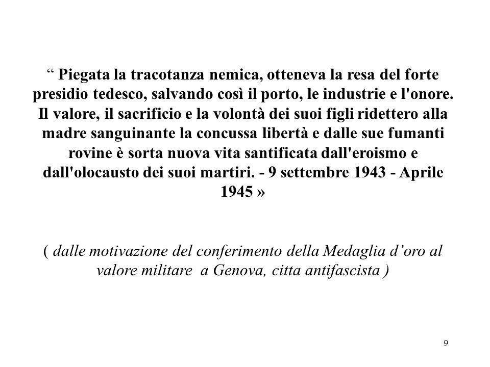 80 Luigi Andrea Martinetti nasce a Sampierdarena il 25 Gennaio del 1922 Lapide commemorativa posta nel 1958 in Località Molini - Fraconalto, Alessandria