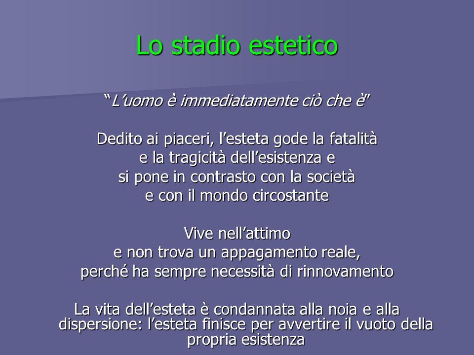 Figura metaforica: Il seduttore, Don Giovanni Testi di riferimento: Diario di un seduttore, Don Giovanni, In vino veritas