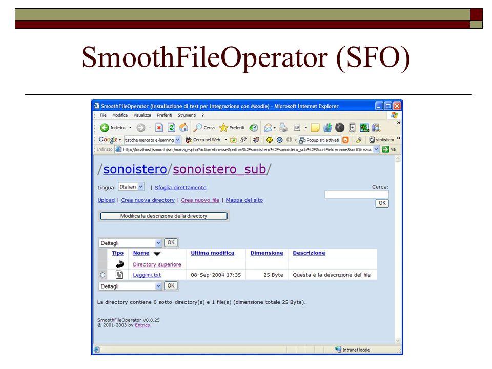 SmoothFileOperator (SFO)