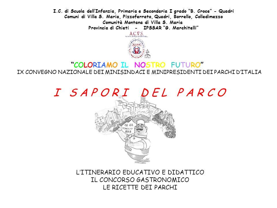 I.C. di Scuola dellInfanzia, Primaria e Secondaria I grado B. Croce - Quadri Comuni di Villa S. Maria, Pizzoferrato, Quadri, Borrello, Colledimezzo Co