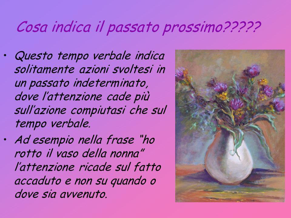 Italiano In italiano luso del passato prossimo in particolar modo nelle regioni del nord come la Lombardia o il Piemonte è così frequente che viene utilizzato anche al posto del passato remoto.