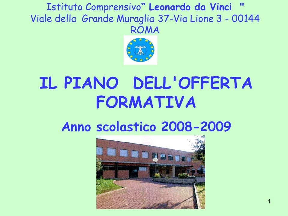 1 Istituto Comprensivo Leonardo da Vinci