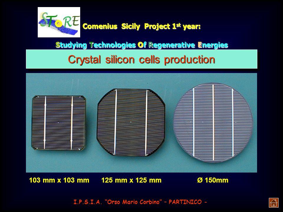 Comenius Sicily Project 1 st year: Studying Technologies Of Regenerative Energies produrre rivalutando lindividualità e le risorse dei singoli, ma che