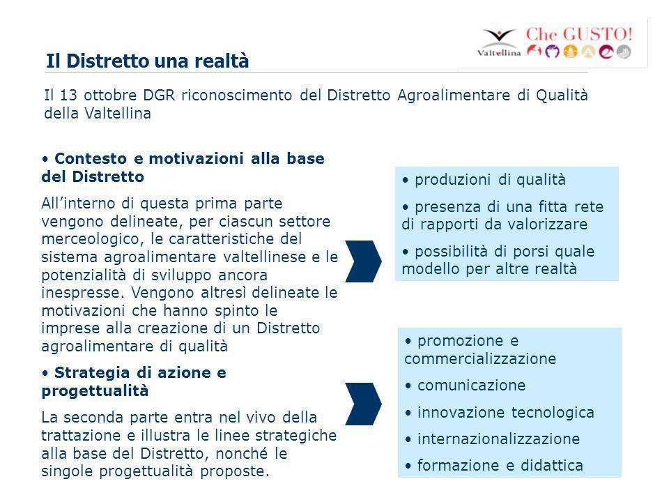 www.eurca.com 3 Quali sono i progetti strategici del Distretto.