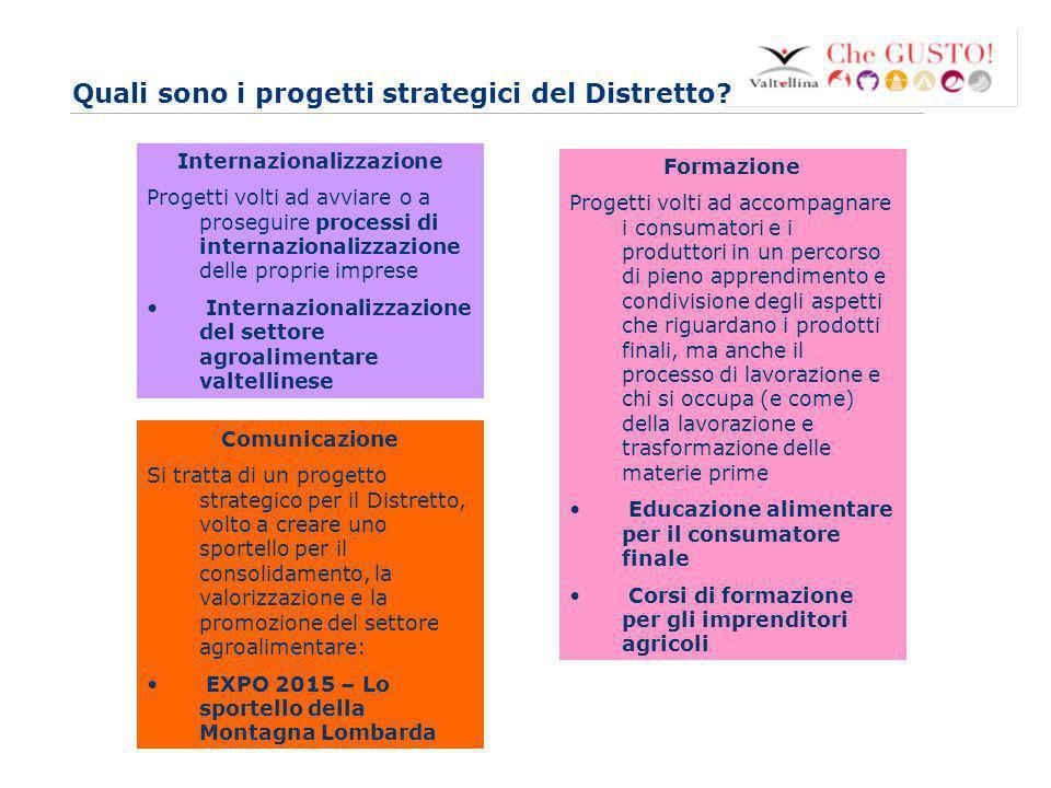 www.eurca.com 4 Quali sono i progetti strategici del Distretto? Internazionalizzazione Progetti volti ad avviare o a proseguire processi di internazio