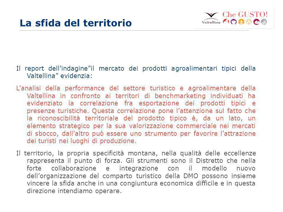www.eurca.com 7 La sfida del territorio Il report dellindagineil mercato dei prodotti agroalimentari tipici della Valtellina evidenzia: Lanalisi della