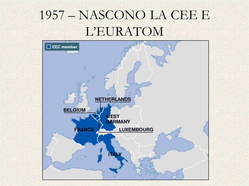 1957 – NASCONO LA CEE E LEURATOM