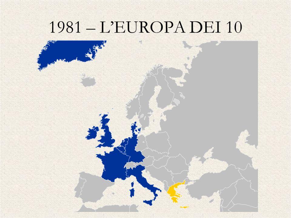 1981 – LEUROPA DEI 10