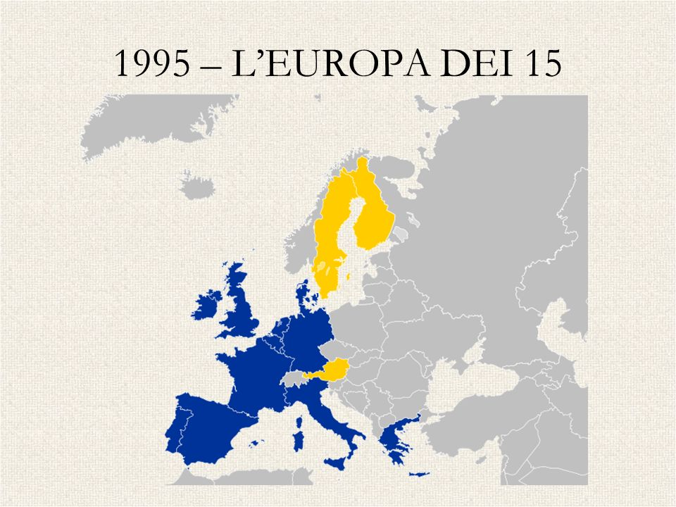 1995 – LEUROPA DEI 15