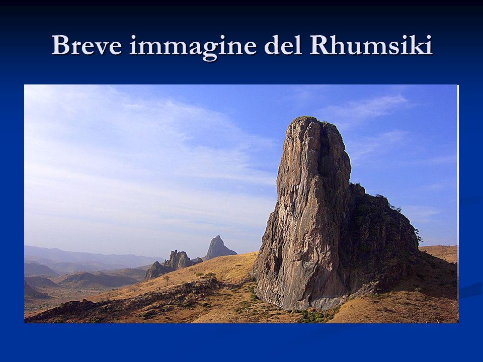 Breve immagine del Rhumsiki