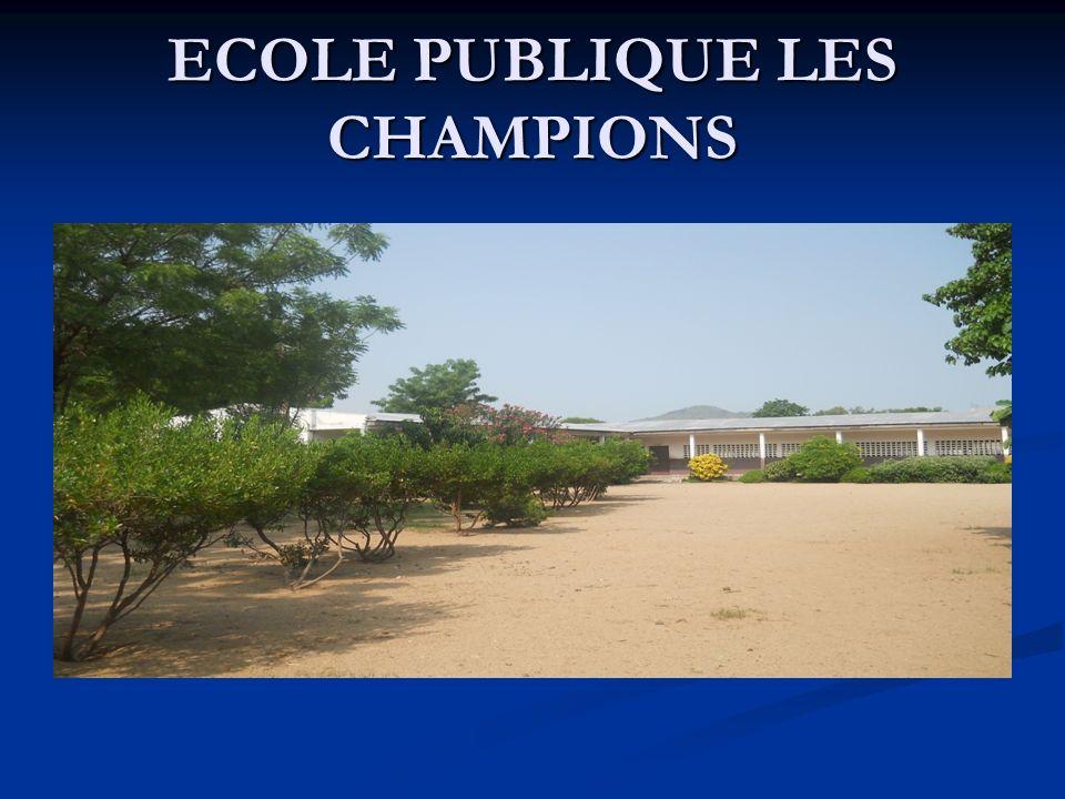 ECOLE PUBLIQUE LES CHAMPIONS