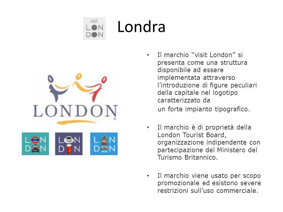 Londra Il marchio visit London si presenta come una struttura disponibile ad essere implementata attraverso lintroduzione di figure peculiari della ca