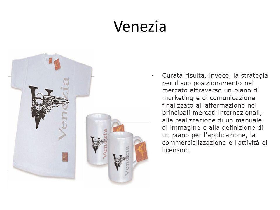 Venezia Curata risulta, invece, la strategia per il suo posizionamento nel mercato attraverso un piano di marketing e di comunicazione finalizzato all